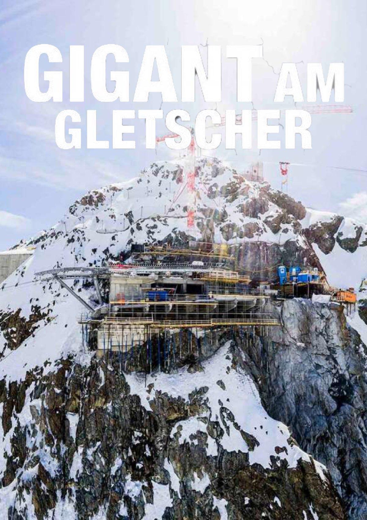 Gigant am Gletscher