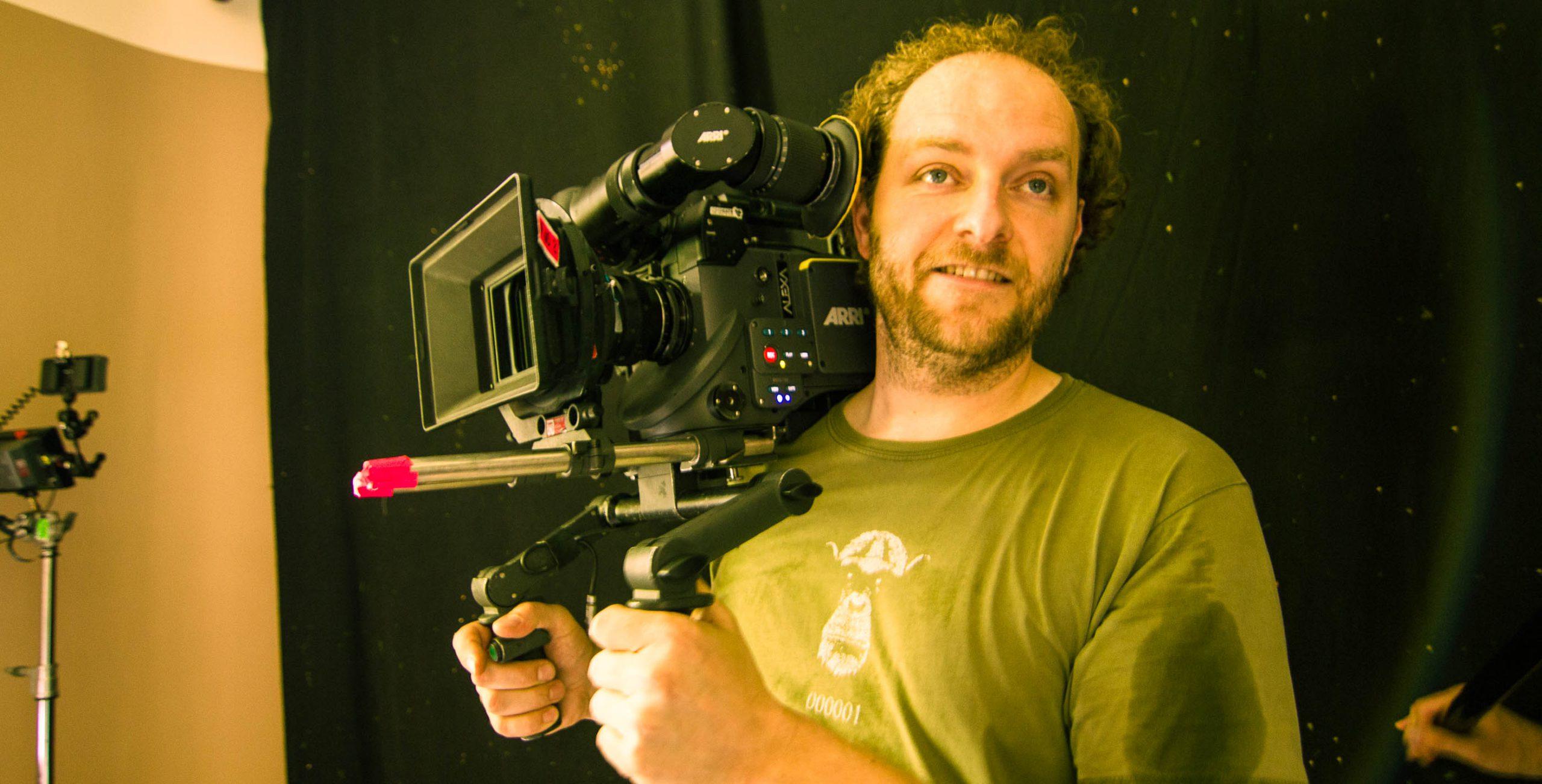 Joe Berger Cinematographer at Work